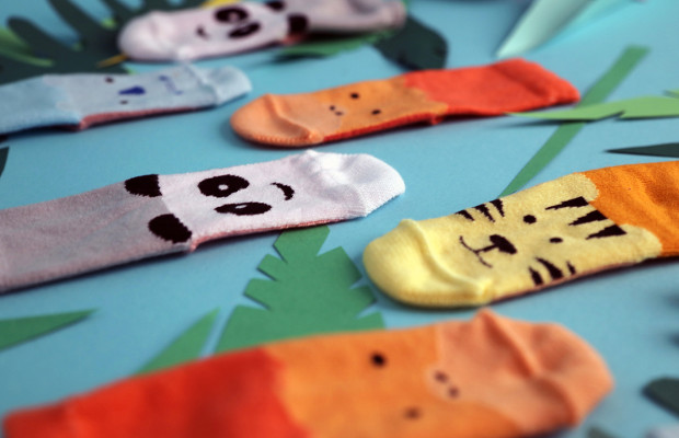 These Socks for Baby Humans Could Save Endangered Baby Animals