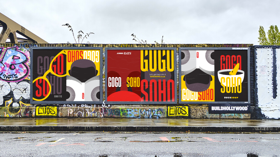 M&C Saatchi Calls on Londoners to Get Back to City's Beating Heart with 'GOGOSOHO' Campaign