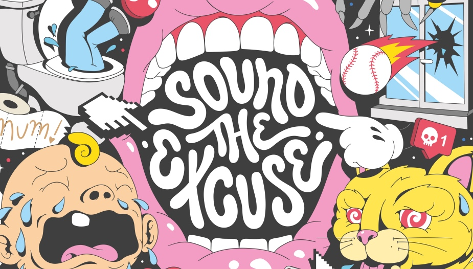 TBWA and The Book of Man Launch  'Sound the Excuse'