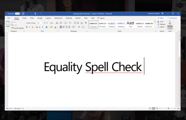 Lenovo's Microsoft Word Plug-in Spell Checks Workplace Equality