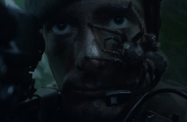 This Creepy-Crawly Royal Marines Ad Is Not One for Arachnophobes