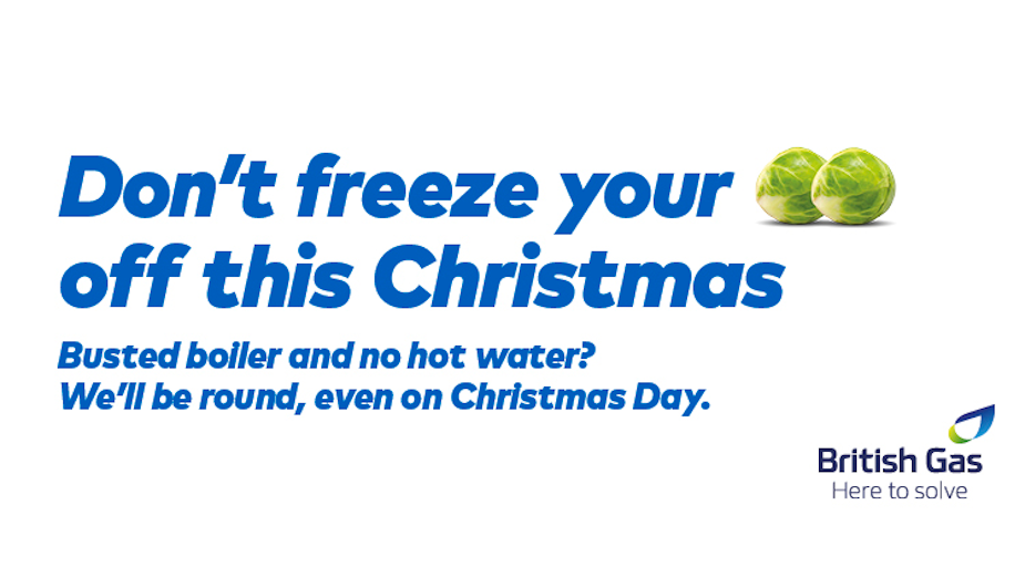 British Gas Keeps Things Smooth with Irreverent Christmas Campaign