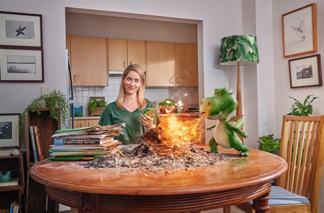 St.George Encourages Home Buyers to 'Go Paperless' Fiery New Ad