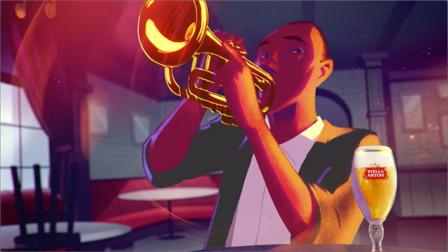 Stella Artois Coaxes Us Back to Bars with this Dreamy, Jazz-infused Animation