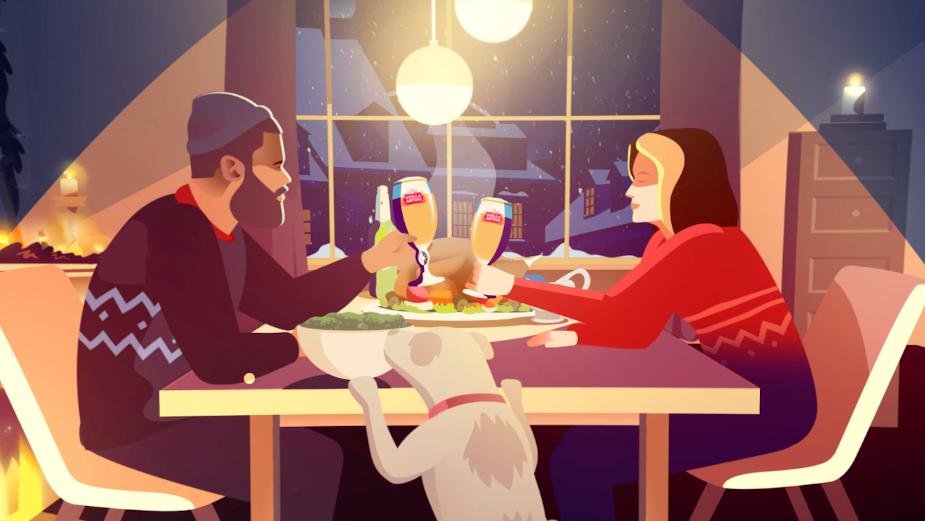 Stella Artois' Charming Animation Savours a Cosy Christmas
