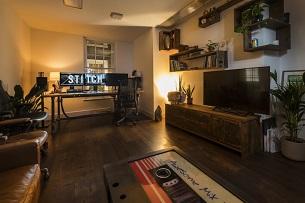 Stitch Celebrates New Home