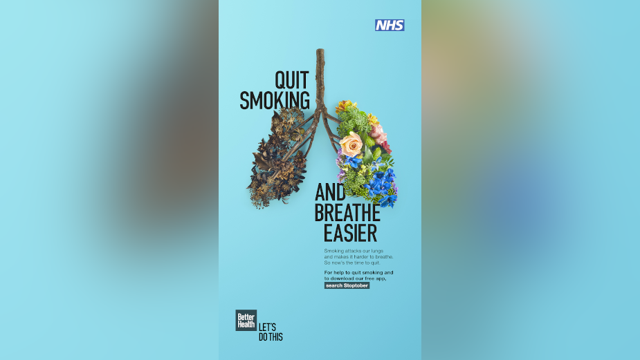 Public Health England Focusses on Lung Health for Annual Stoptober Campaign