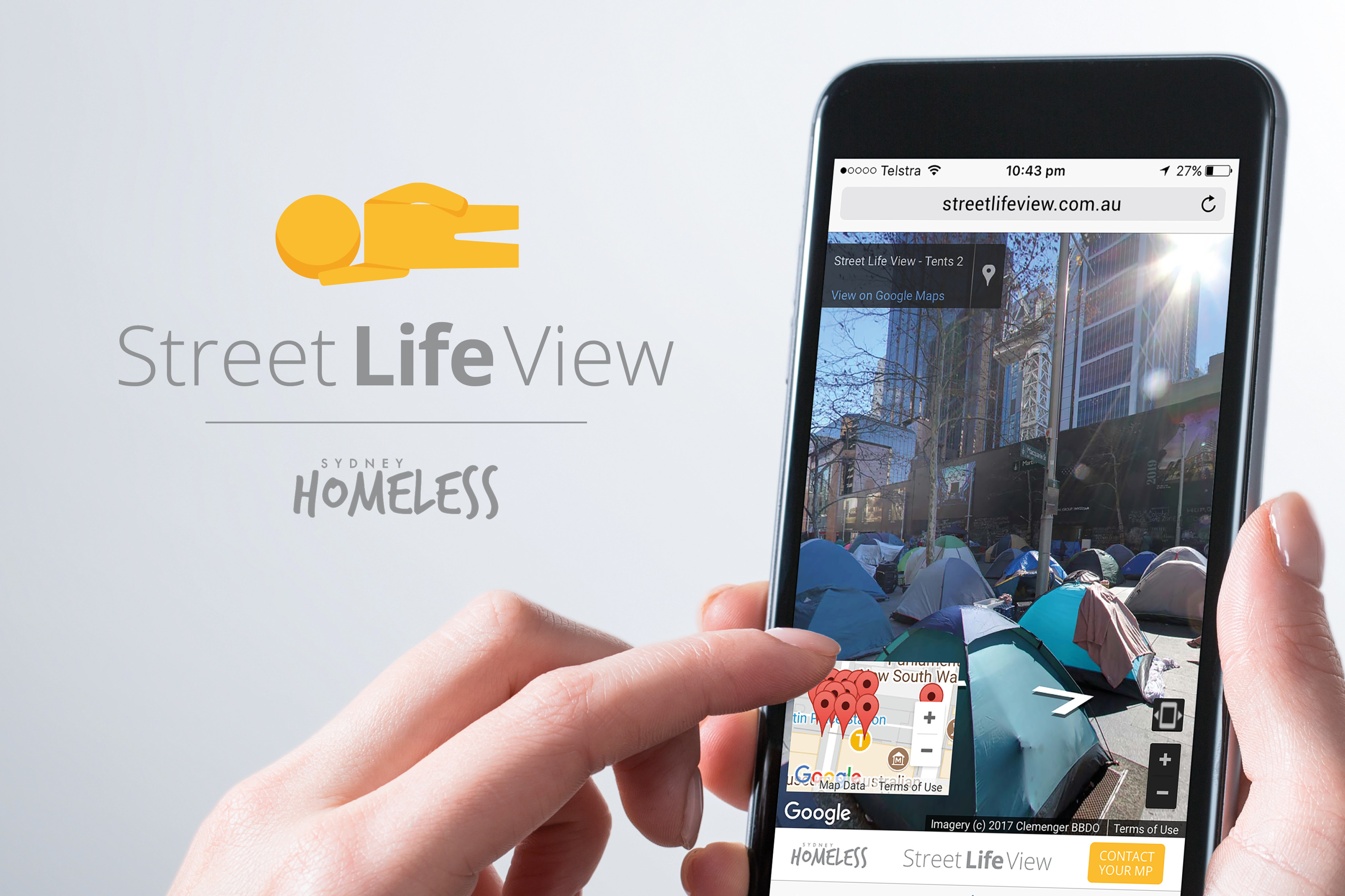 Tent City Finds a Permanent Home With Launch of Street-Life View