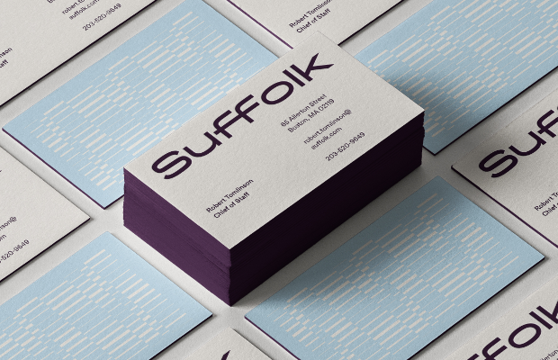 Suffolk Unveils New Brand Identity from MullenLowe US