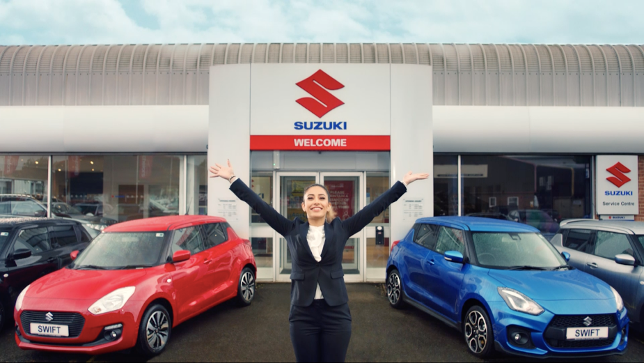 Suzuki Gets Britons Back on the Road in Latest Campaign