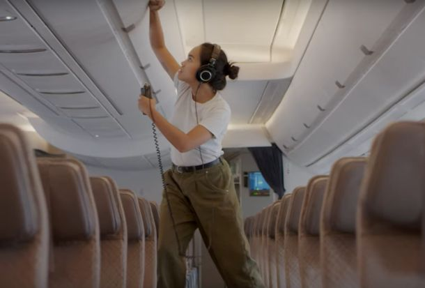 TBWA and Chong the Nomad Sample a Non-Stop Flight in New Singapore Airlines Campaign