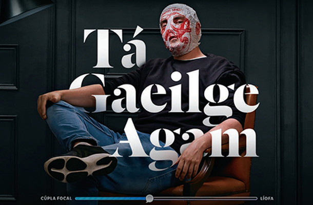 Astronauts, Queens and Bandits Promote Irish in TG4 Campaign