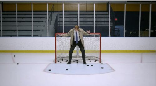 Hockey Star T.J Oshie Scores Some Shots For Rent-A-Car