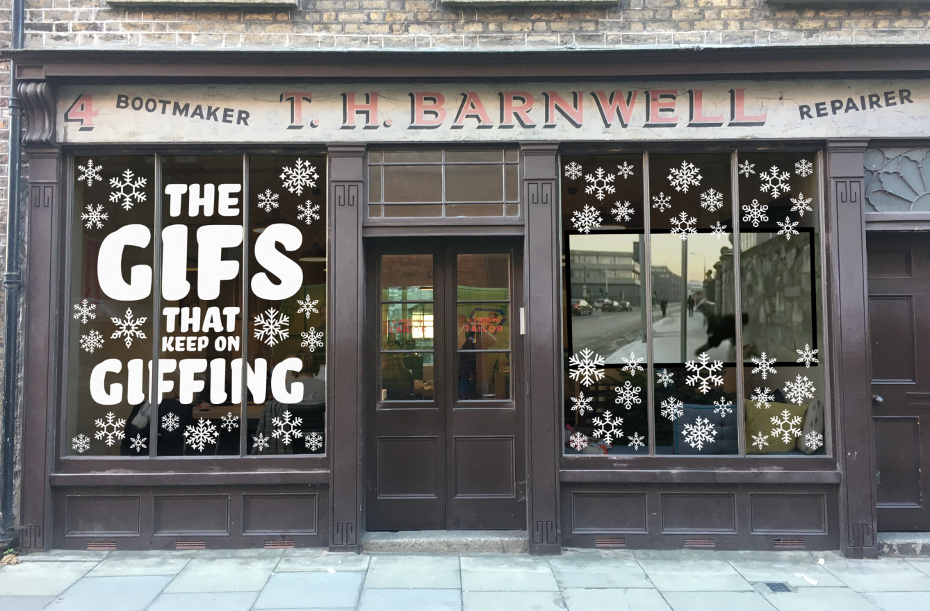 The Public House Gives the Gift of 'The Gif that Keeps on Giffing' This Christmas
