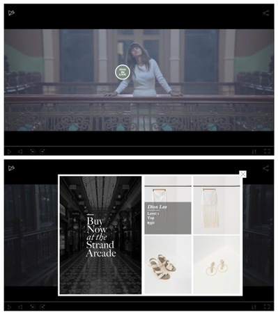 The Strand Arcade Showcases A/W Fashion in Newly Launched Interactive Video via The Royals