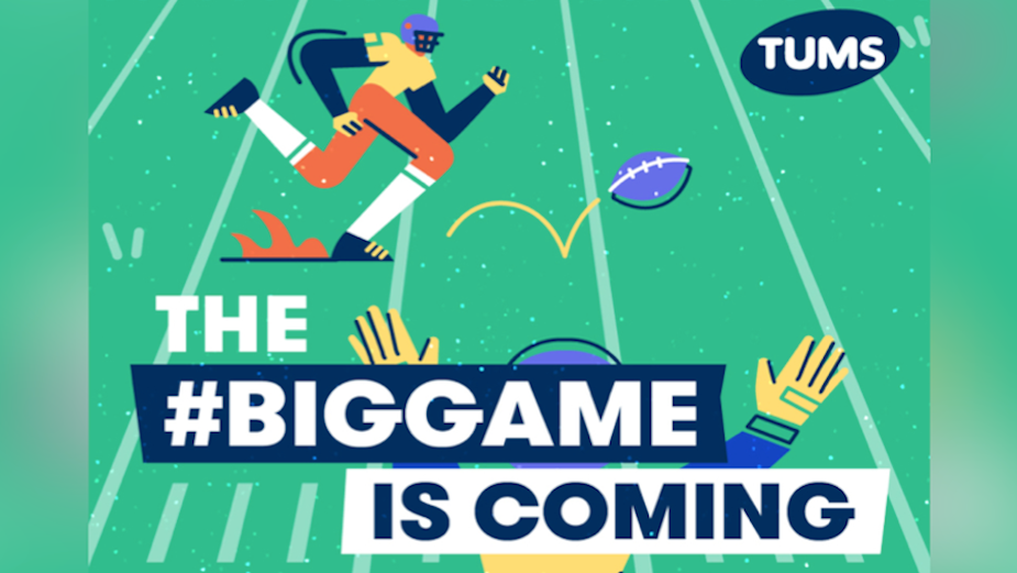 Panic Studio Unveils TUMS Animations Supporting Super Bowl Sunday