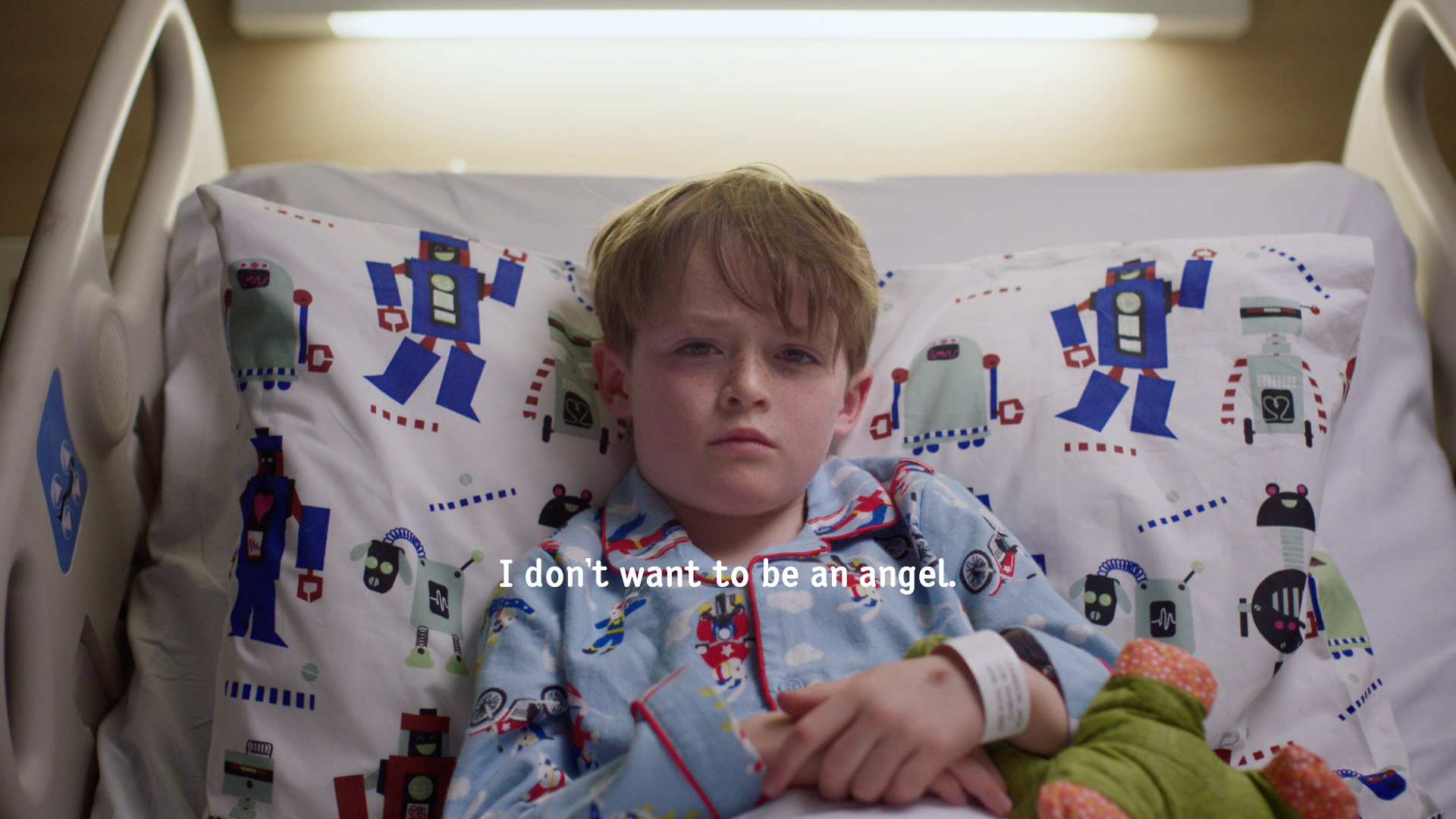 Children Don't Want to be Angels in Heart-Wrenching Spot for The Kids' Cancer Project
