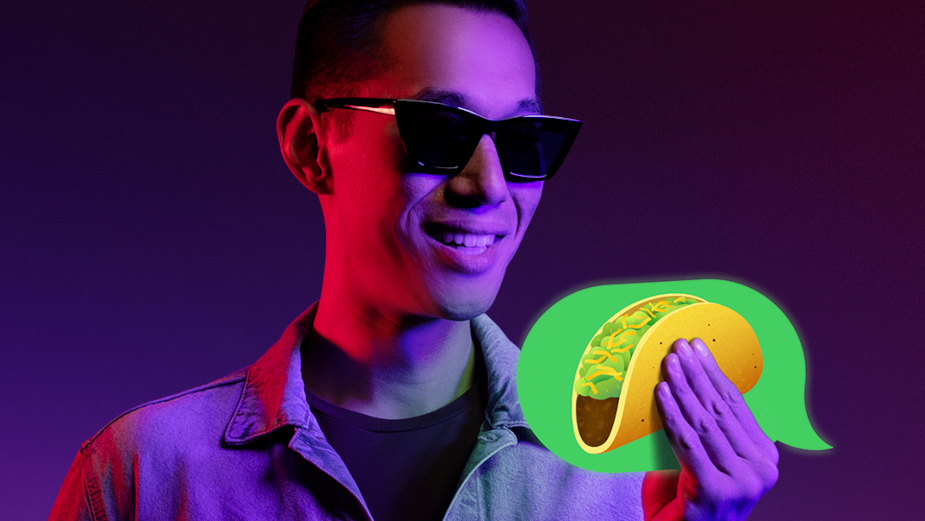 Taco Bell Turns the Taco Emoji into an IRL Taco for National Taco Day Campaign