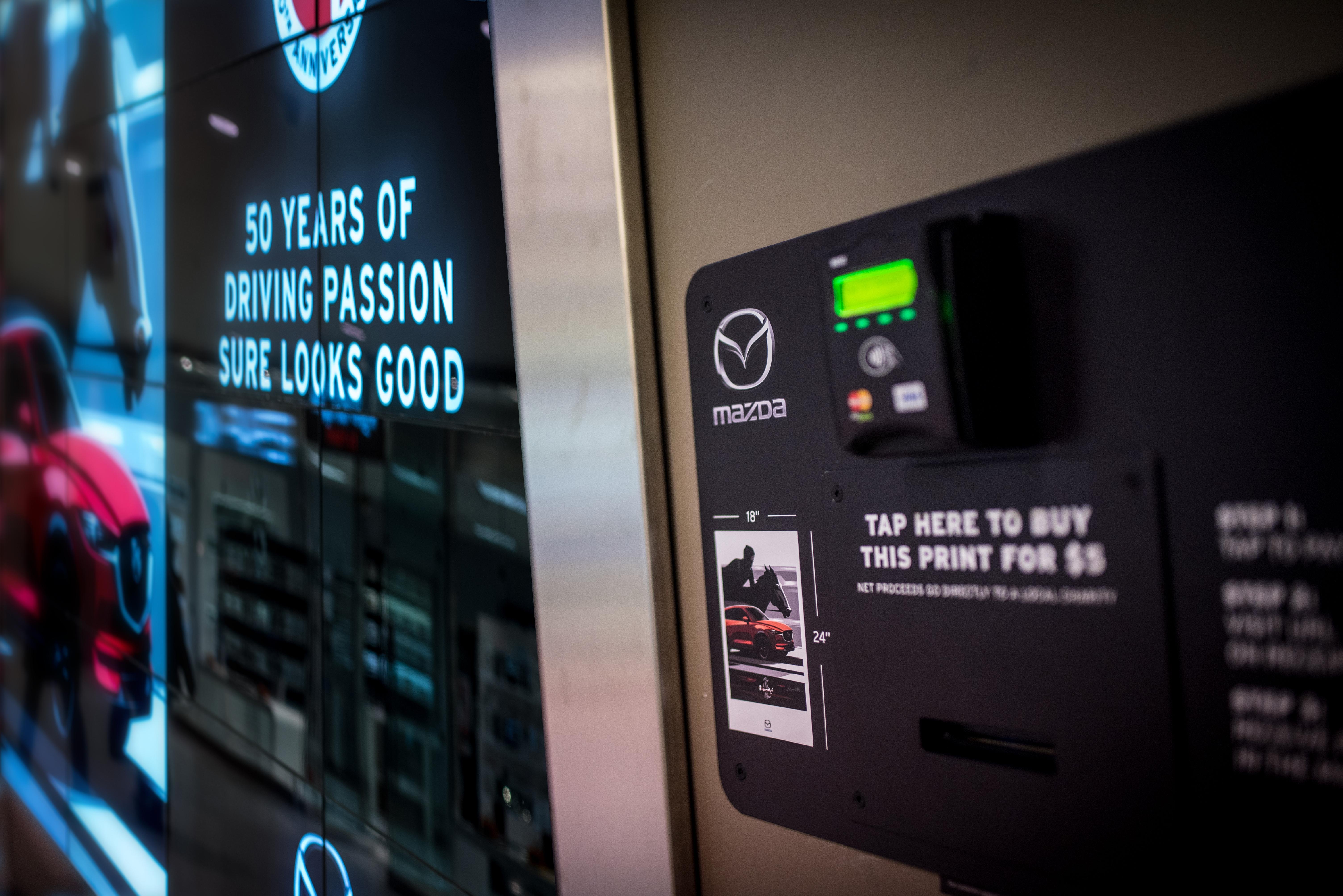 Mazda Turns Billboard into Digital Storefront with J. Walter Thompson Canada