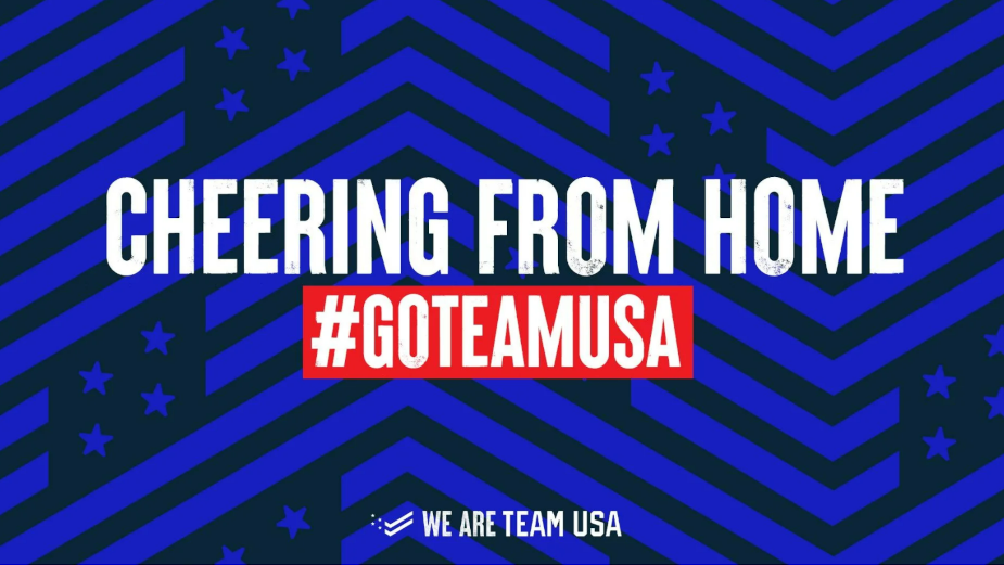 Vice President Harris and Kim Kardashian Amongst Fans Cheering on Athletes from Home with #GoTeamUSA