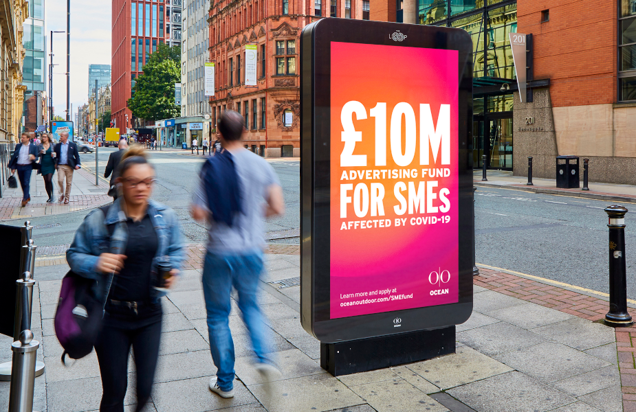 Ocean Outdoor Launches £10 Million Advertising Fund for SMEs