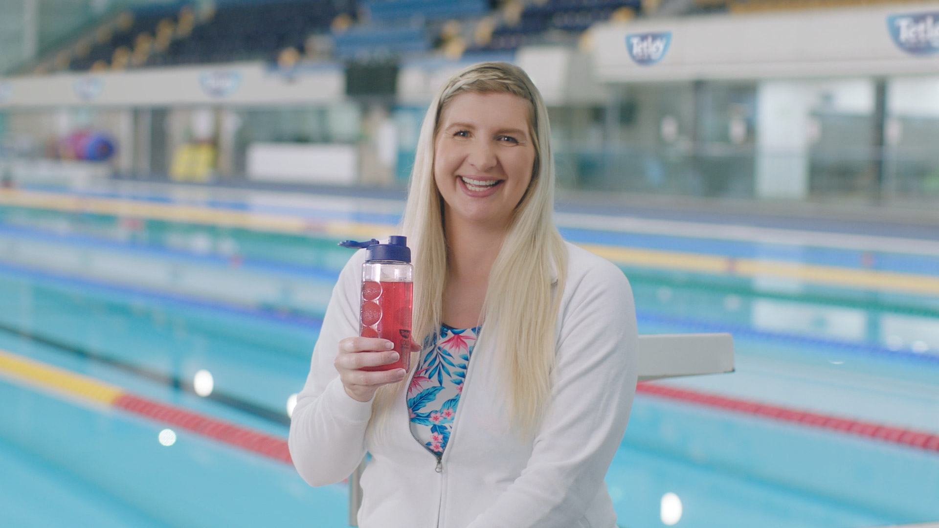 LEAP Makes a Splash for Tetley Cold Infusions with Olympic Medallist Rebecca Adlington