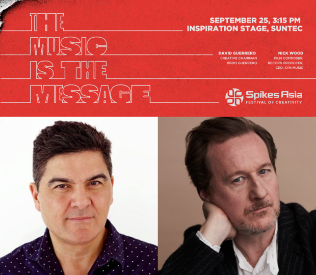 BBDO Guerrero's David Guerrero and Syn Music's Nick Wood to Speak at Spikes 2019
