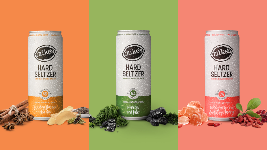 Mike's Hard Seltzer Goes Naturally Good with Three Health-conscious New Flavours