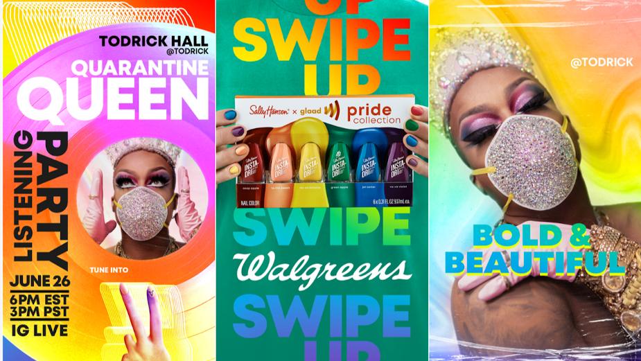 Todrick Hall Scores Record Success for Sally Hansen Pride Campaign