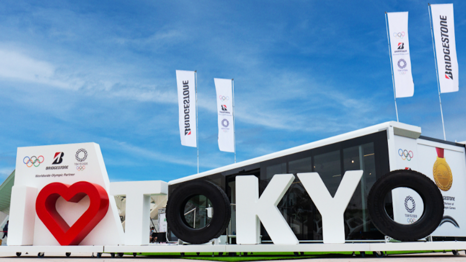 Bridgestone UK Celebrates the Olympic Games Tokyo 2020 with a UK Olympic Games Experience Roadshow