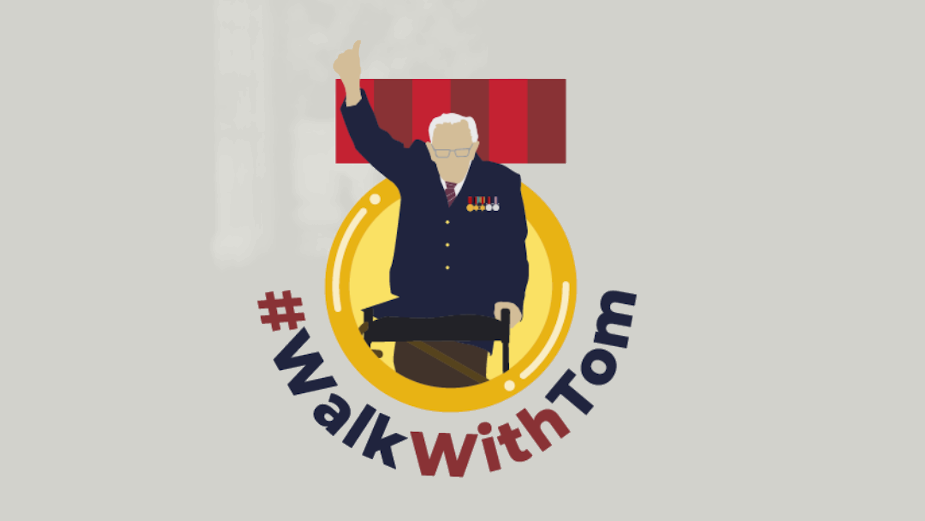 Captain Tom Rallies Army of Hope to #WalkWithTom in New Initiative