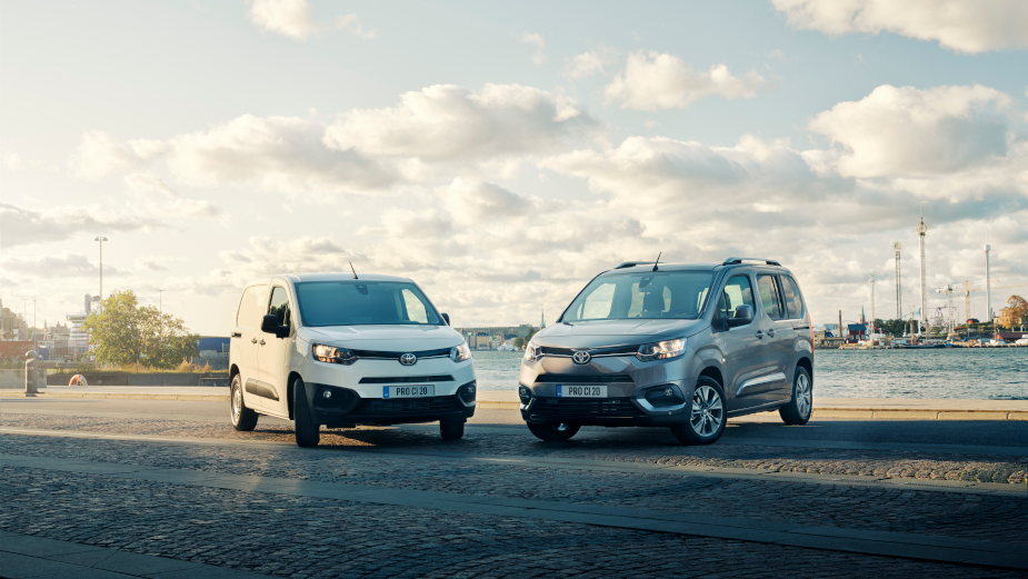 Toyota's Proace City Keep Professionals Moving Around the City in Latest Spot
