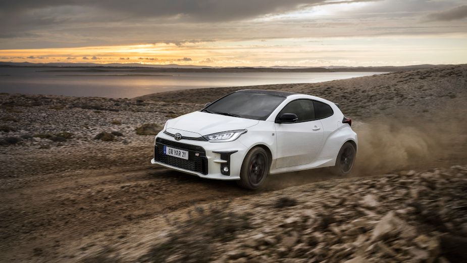 Experience Endless Exhilaration in High-octane Toyota GR Yaris Spot