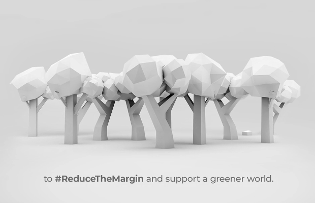 Cheil India Reduces the Margin to Cut Back on Paper Waste
