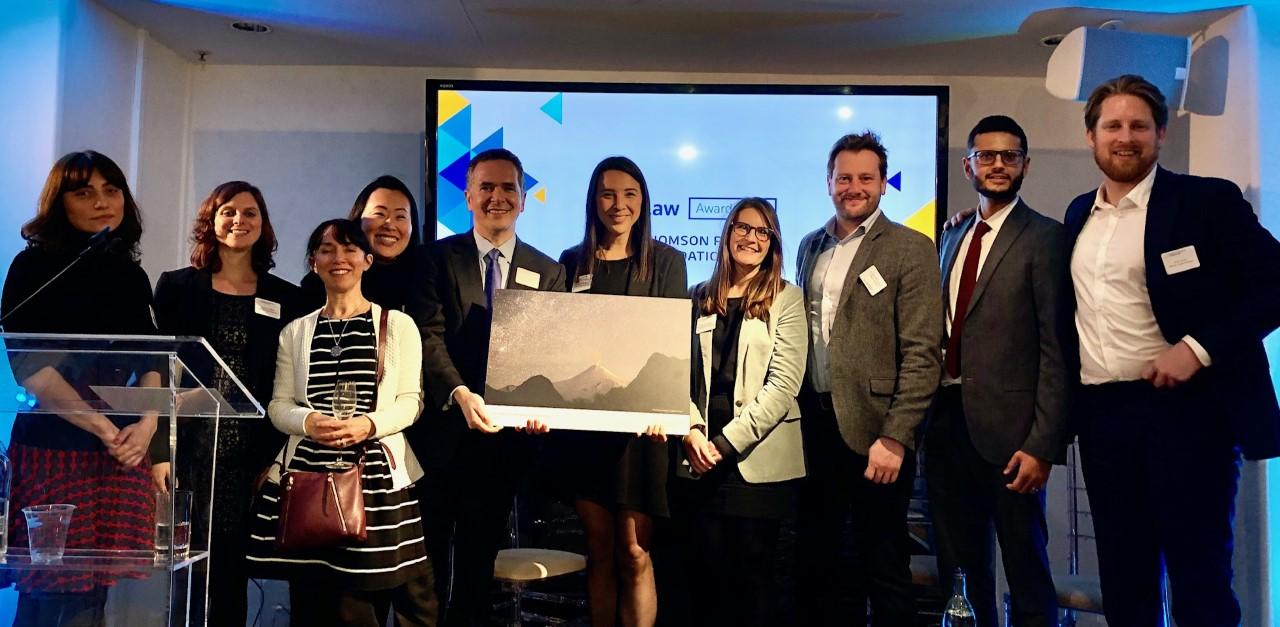 Dentsu Aegis Network Named TrustLaw's Legal Team of the Year
