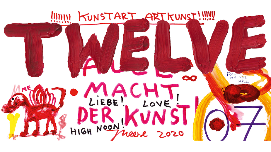 Iconic German Contemporary Artist Jonathan Meese Unveils Artwork for New Issue of TWELVE Magazine