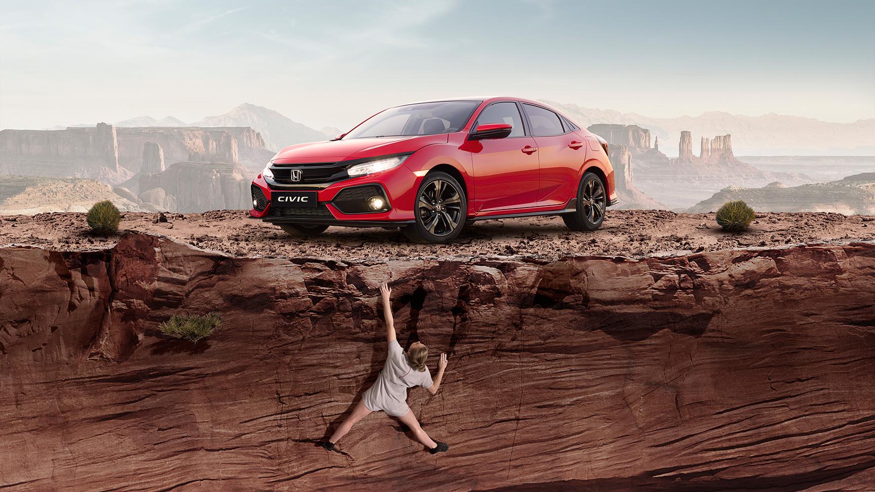 Honda Motor Europe Launches 48-hour Virtual Honda Civic Treasure Hunt
