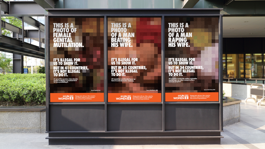 'Censored' Ads Expose Gender-Based Violence in 'The UNseen Story' for UN Women