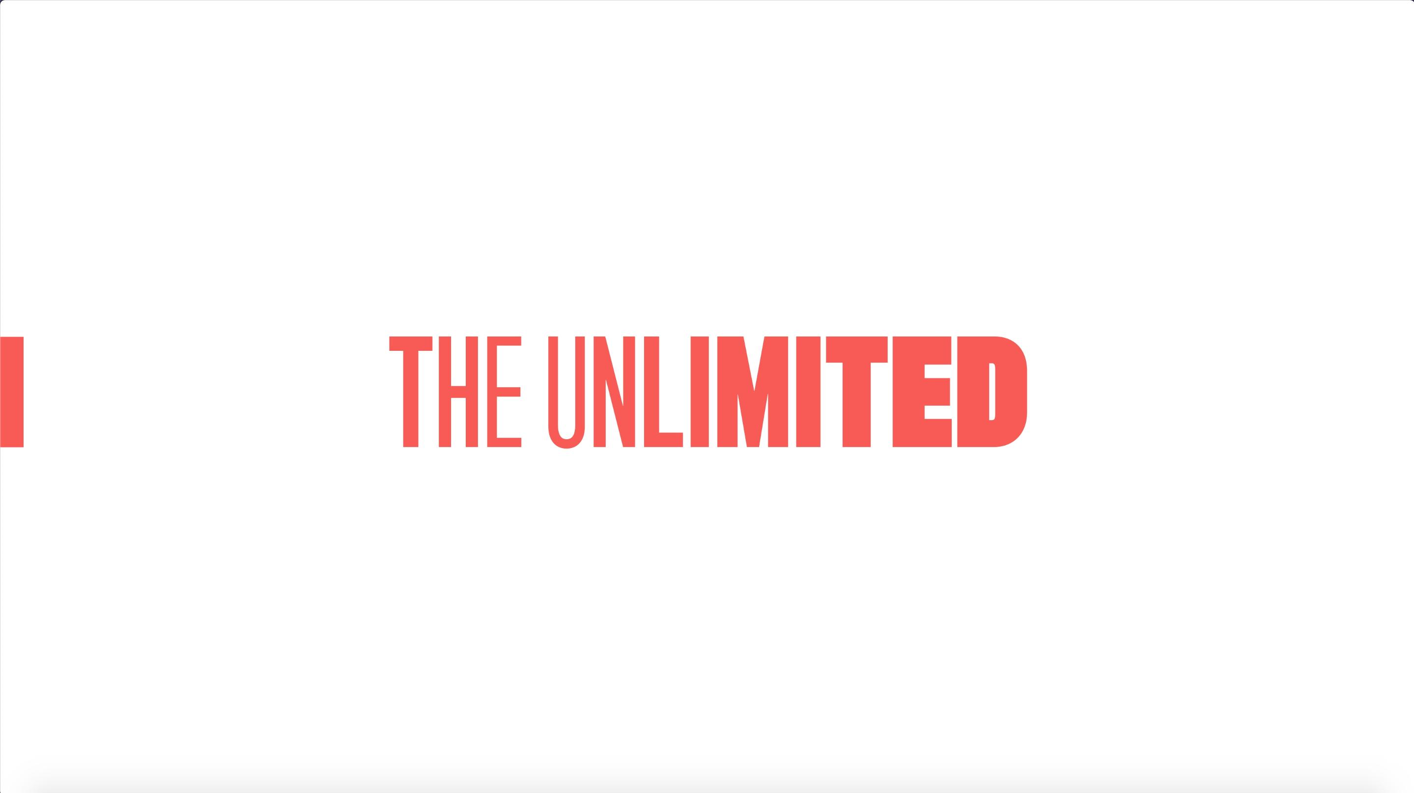 Joe Public United Creates a Bold New 'Unlimited' Identity