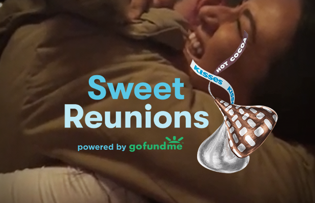 This Hershey's Kisses Campaign is the Sweetest Reunion this Christmas