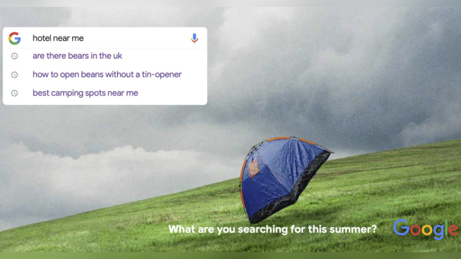 Uncommon's Latest Outdoor Campaign Takes You into the World of Google This Summer