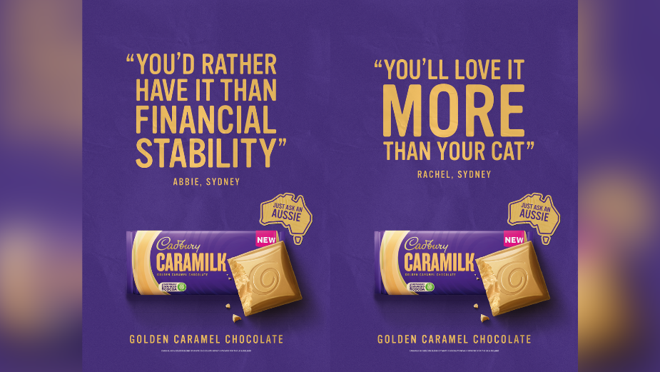Cadbury Hands the Mic to Real Life Aussies to Launch Caramilk in the UK
