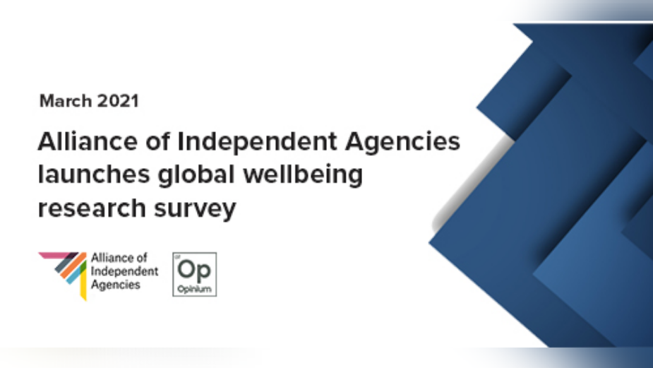 Alliance of Independent Agencies Launches Wellbeing Research Questionnaire March 2021