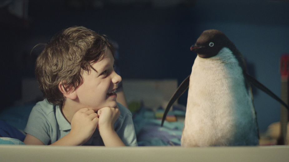"""John Lewis's Monty the Penguin: """"I Think CGI Was the Only Way to Do This"""""""