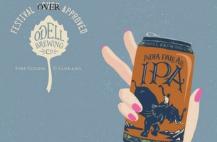 Cactus Creates Odell Posters for IPA Day Put Beers in a Variety of Hands
