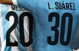 Mercado McCann Align Suarez and Messi's Jerseys to Celebrate World Cup Football
