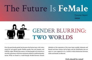 Are We Seeing The End Of Gender?
