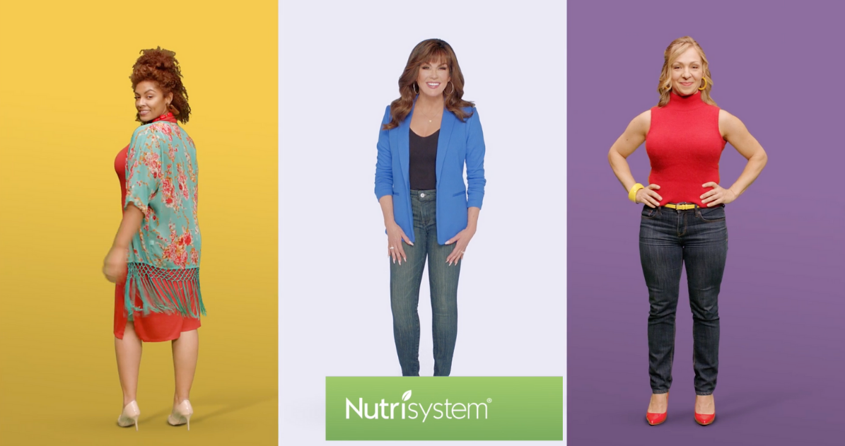 Not Every Body is Marie Osmond in New Colourful Nutrisystem Campaign