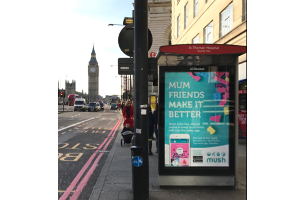 Mush Unveils New Outdoor Campaign in London