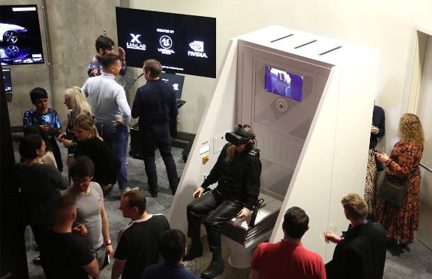 Defender VR Experience Features in Unreal London Labs
